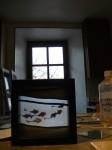 celine le marhadour, création vitrail