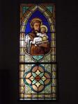 celine le marhadour, st rome de tarn, vitrail, création vitrail, avetron